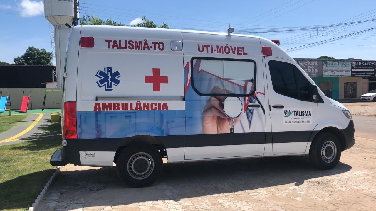 Prefeitura de Talismã através da Secretaria de Saúde, realizou a aquisição de uma Ambulância Semi-UTI