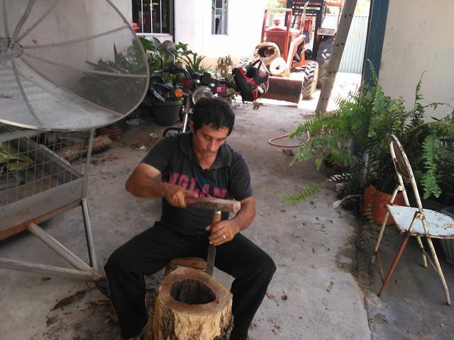 Secretaria de Meio Ambiente realiza Oficina de artesanato com galhos e troncos em Talismã