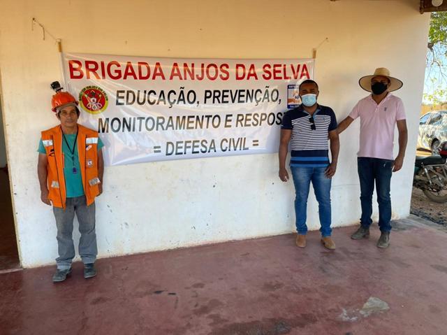 BRIGADISTAS DE TALISMÃ, ALVORADA E PEIXE SUSPENDEM TEMPORARIAMENTE O TREINAMENTO DE COMBATE A INCÊNDIO
